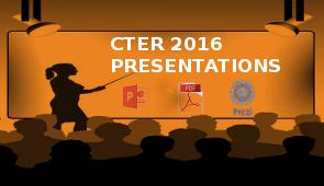 CTER 2016 - prezentacje
